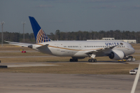 United Airlines Boeing 787-8 Dreamliner i Houston